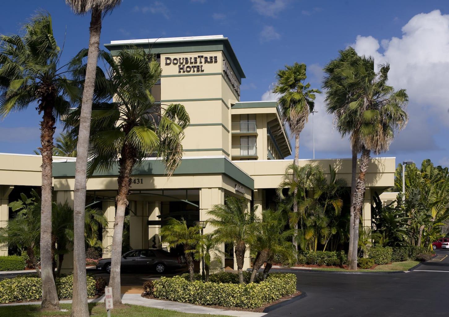 DoubleTree Hotel Entrance